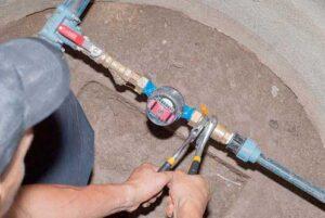 waterleiding aanleggen Lisse